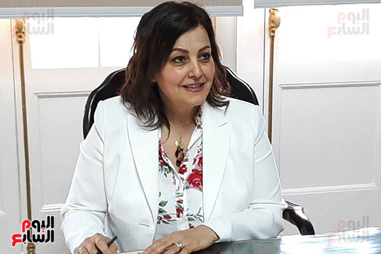 الدكتورة منى محرز ، نائب وزير الزراعة (7)