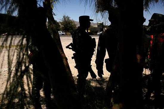 انتشار قوات الجيش المكسيكى
