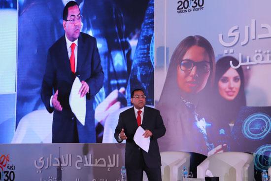 الدكتور صالح الشيخ رئيس الجهاز المركزى للتنظيم والإدارة (1)