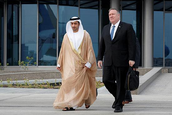 وزير الخارجية الأمريكى مع شهاد الفهيم