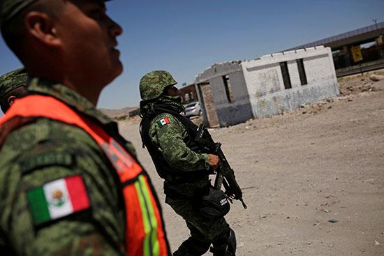 الجيش المكسيكى