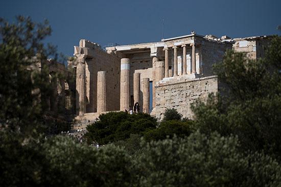 الأثار-الإغريقية-ضحية-التغير-المناخى