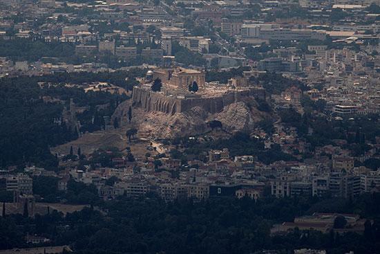الأثار-اليونانية-تعانى-من-التغيرات-المناخية
