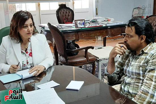الدكتورة منى محرز ، نائب وزير الزراعة (3)