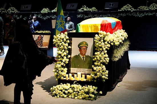صورة رئيس الأركان الإثيوبى