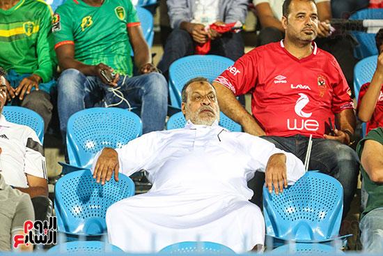 جماهير الأهلي تؤازر موريتانيا