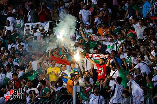 فرحة جماهير الجزائر بالفوز
