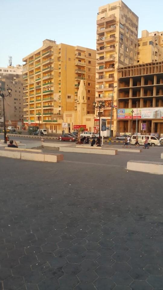 إزالة الاشغالات وانارة الطرق بالاسكندرية (5)