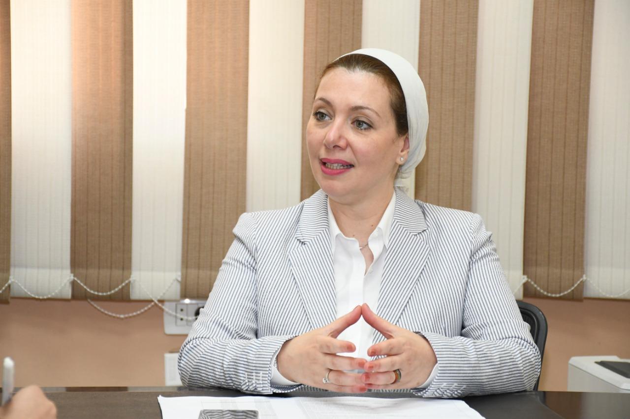 الدكتورة هويدا بركات رئيس وحدة التنمية المستدامة