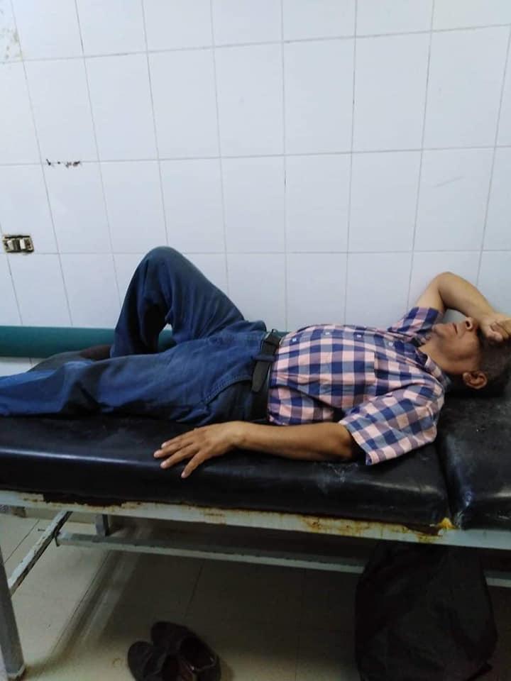 إصابة بيطري بكسر في الذراع أثناء مشاركته بحملات التحصين (1)
