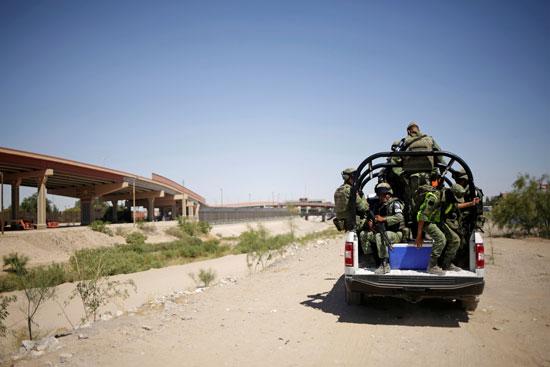 الحرس الوطنى المكسيكى