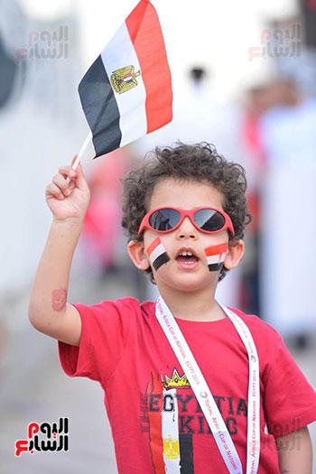 توافد الجماهير المصرية قبل مباراة مصر والكونغو (5)