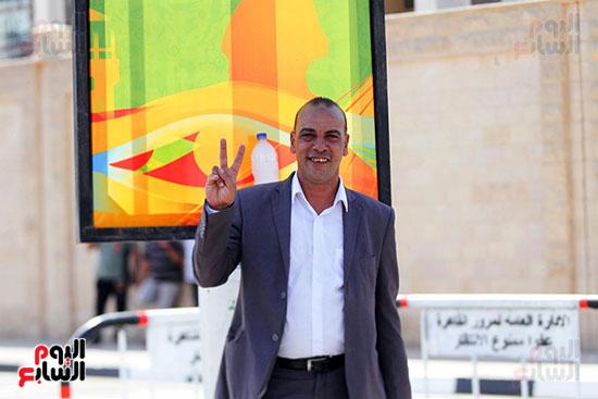 توافد الجماهير المصرية لدعم الفراعنة أمام الكونغو الديمقراطية  (48)