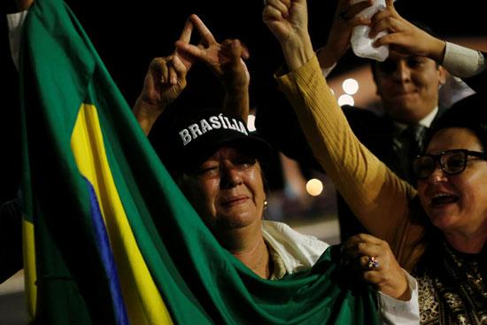 مظاهرات ضد الرئيس البرازيلى السابق لولا دا سيلفا