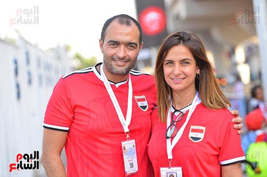 توافد الجماهير المصرية قبل مباراة مصر والكونغو (23)