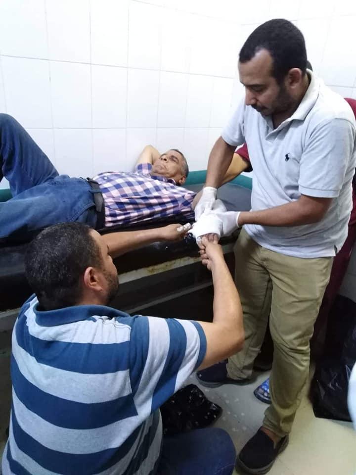 إصابة بيطري بكسر في الذراع أثناء مشاركته بحملات التحصين (2)