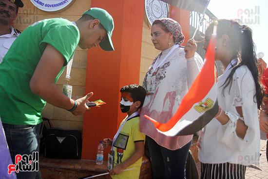 توافد الجماهير المصرية لدعم الفراعنة أمام الكونغو الديمقراطية  (27)