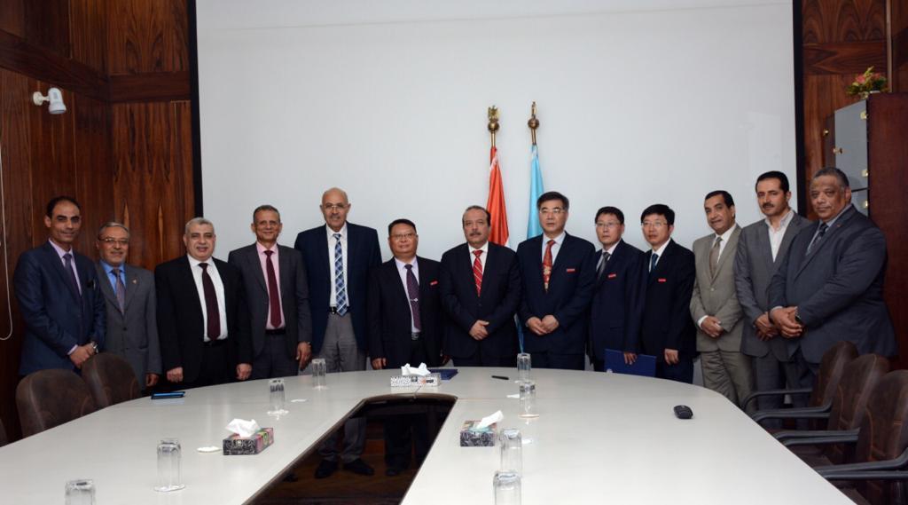 اتفاقيه تعاون بين جامعة جيانسو الصينية و جامعة طنطا  (3)