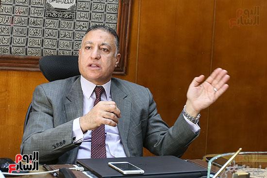 عماد الدين مصطفى خالد، رئيس مجلس إدارة الشركة القابضة للصناعات الكيماوية (1)