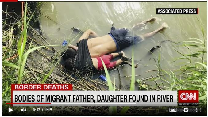 صورة الأب السلفادورى وأبنته