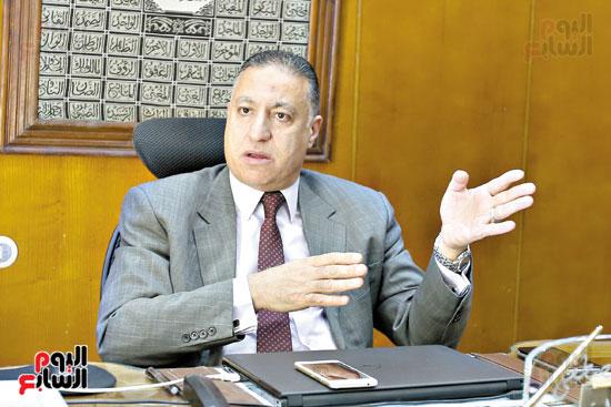 عماد الدين مصطفى خالد، رئيس مجلس إدارة الشركة القابضة للصناعات الكيماوية (2)