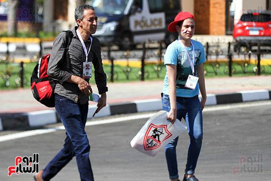 توافد الجماهير المصرية لدعم الفراعنة أمام الكونغو الديمقراطية  (46)