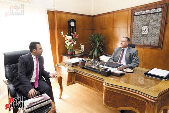 عماد الدين مصطفى خالد، رئيس مجلس إدارة الشركة القابضة للصناعات الكيماوية (3)