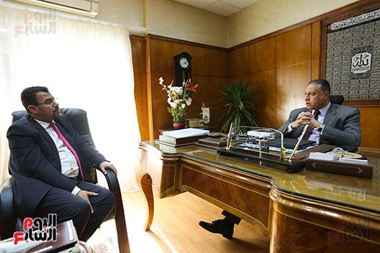 عماد الدين مصطفى خالد، رئيس مجلس إدارة الشركة القابضة للصناعات الكيماوية (4)