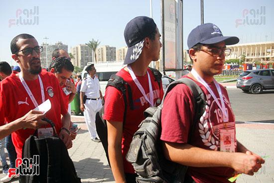 توافد الجماهير المصرية لدعم الفراعنة أمام الكونغو الديمقراطية  (31)