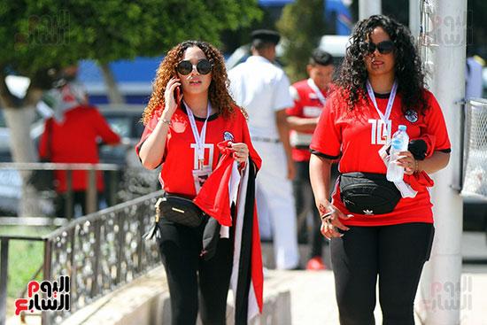 توافد الجماهير المصرية لدعم الفراعنة أمام الكونغو الديمقراطية  (24)