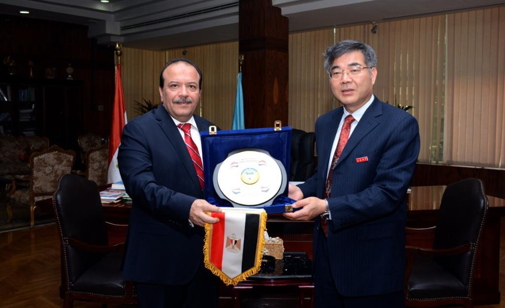 اتفاقيه تعاون بين جامعة جيانسو الصينية و جامعة طنطا  (2)