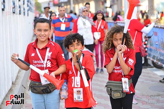توافد الجماهير المصرية قبل مباراة مصر والكونغو (9)