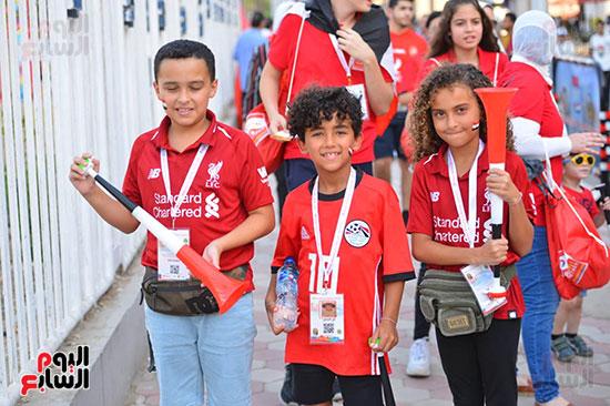 توافد الجماهير المصرية قبل مباراة مصر والكونغو (17)