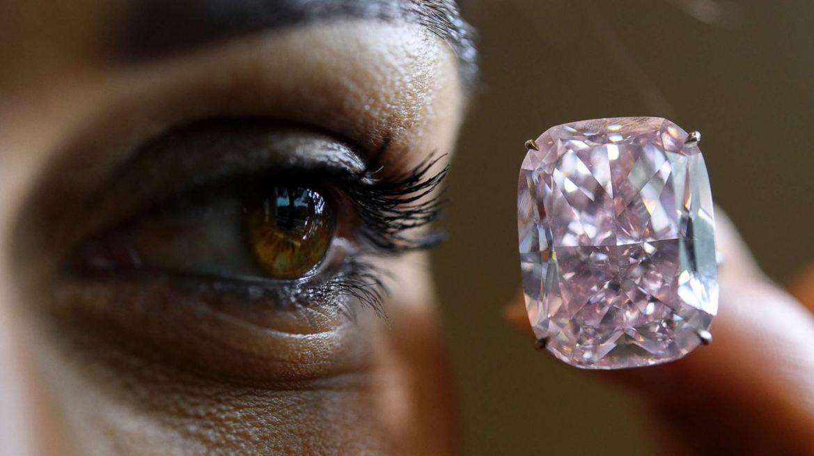 الماس الوردى