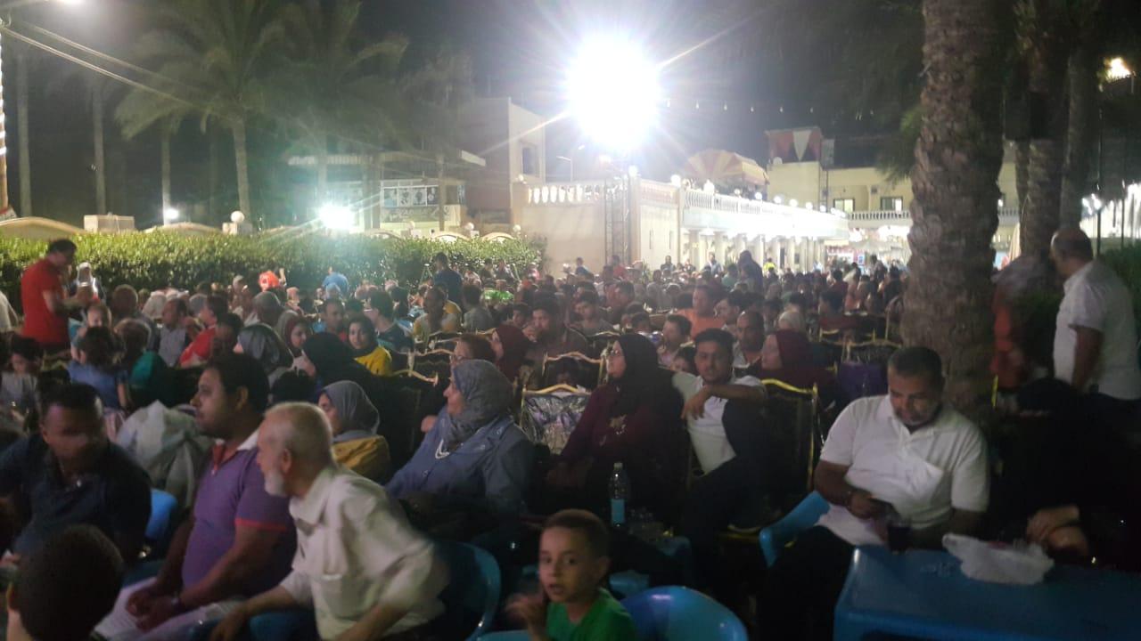 اقبال كبير لمتابعة مباراة مصر والكونغو الديمقراطية في ثاني مباريات المنتخب (3)