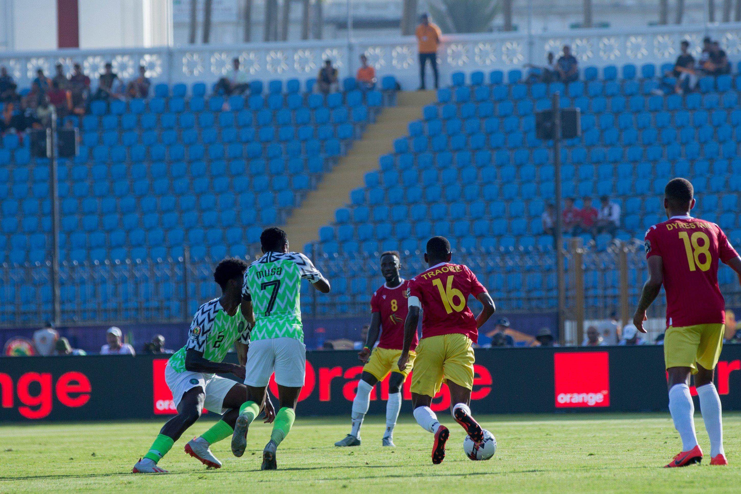 مباراة نيجيريا وغينيا