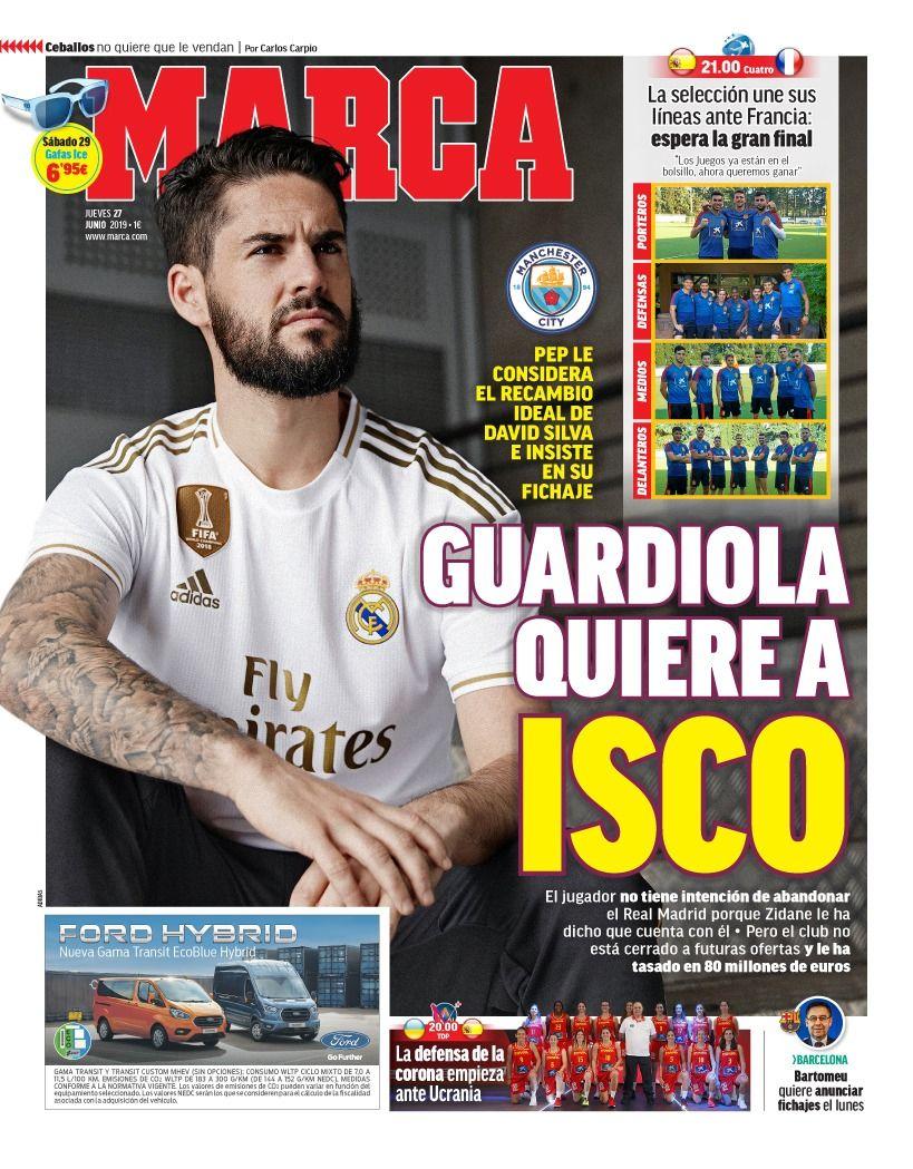 صحيفة ماركا الاسبانية
