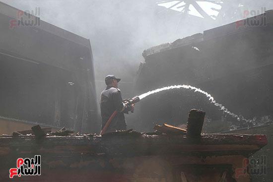 حريق العتبه (8)
