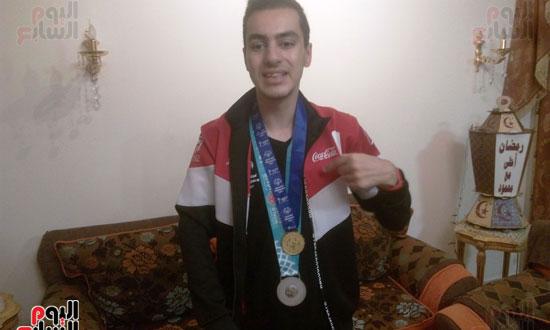 بطل مصرى كسر حاجز الإعاقة (9)