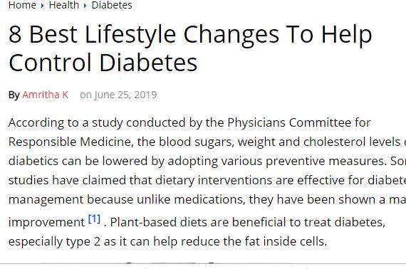 كيفية التحكم فى مرض السكر