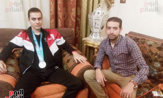 بطل مصرى كسر حاجز الإعاقة (1)