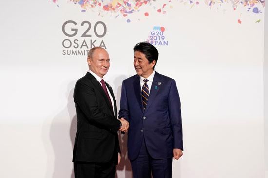 الرئيس الروسى يصل مقر قمة العشرين