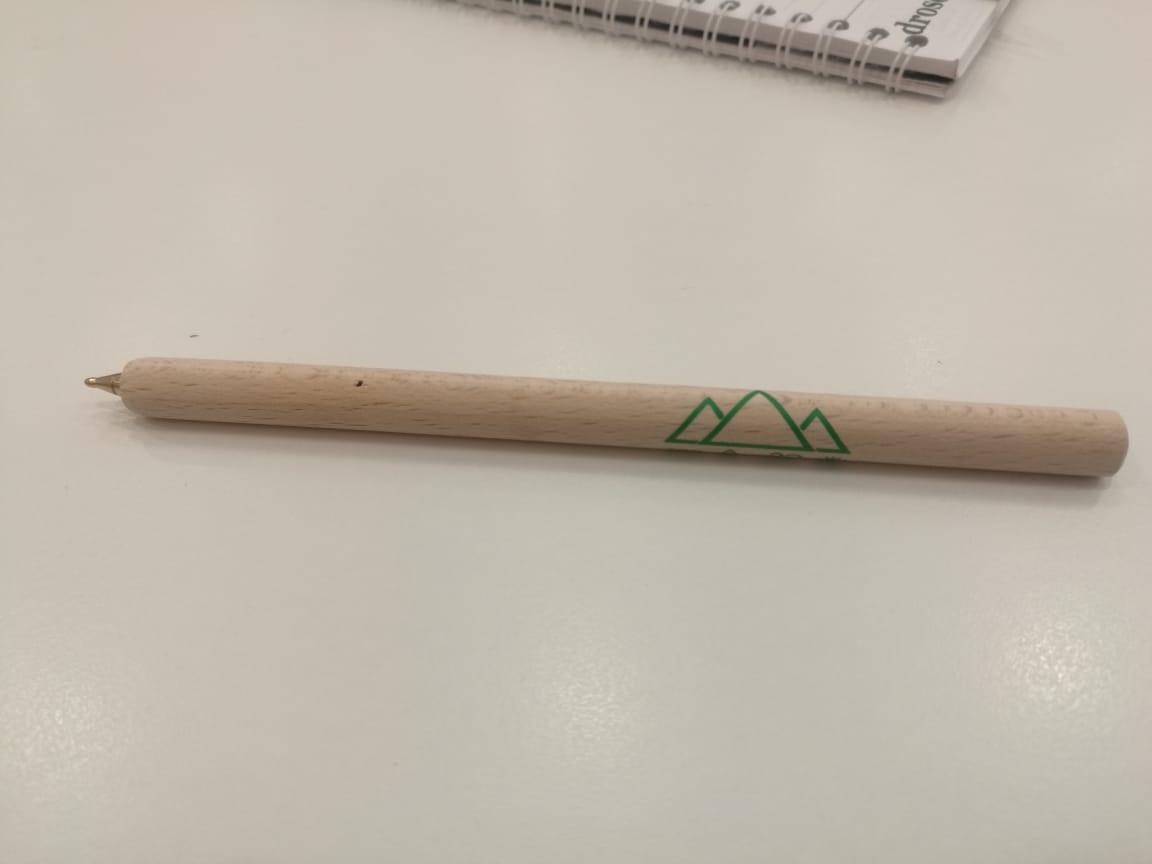 قلم من الخشب