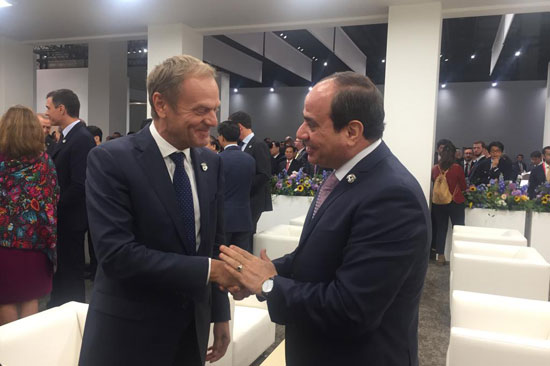 الرئيس عبد الفتاح السيسى فى قمة العشرين (4)
