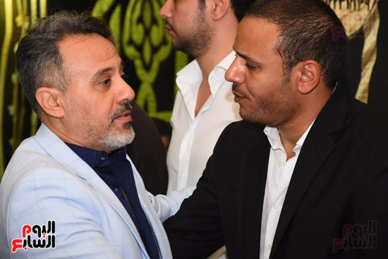 عزاء المخرج محمد النجار (17)