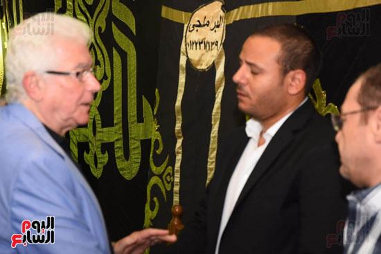 عزاء المخرج محمد النجار (2)