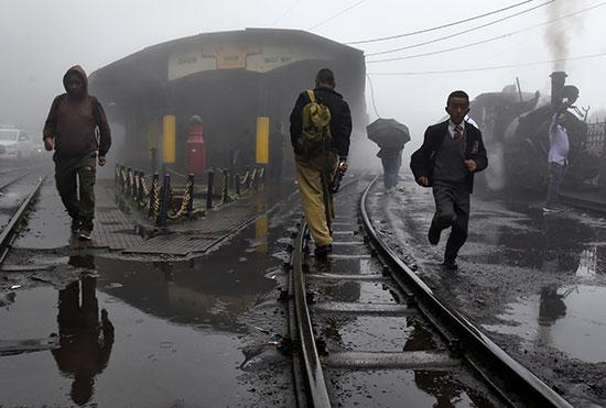 دخان القطار