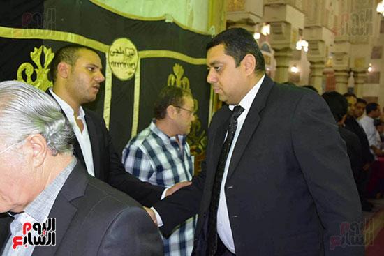 عزاء المخرج محمد النجار (3)