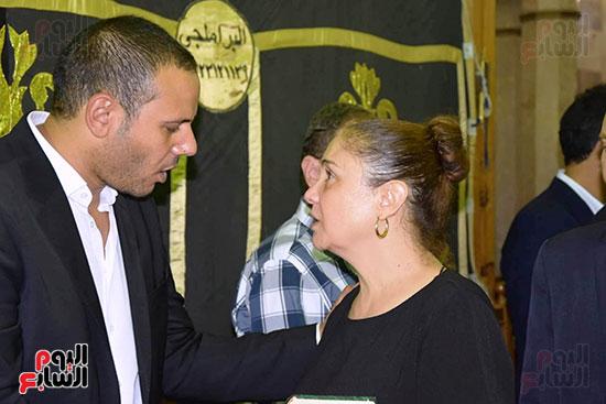 عزاء المخرج محمد النجار (8)