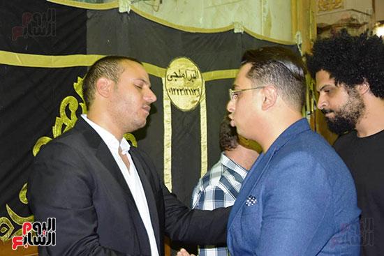 عزاء المخرج محمد النجار (22)